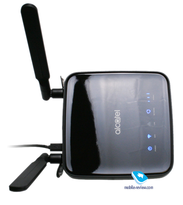 Обзор интернет-центра Alcatel LinkHub HH40V