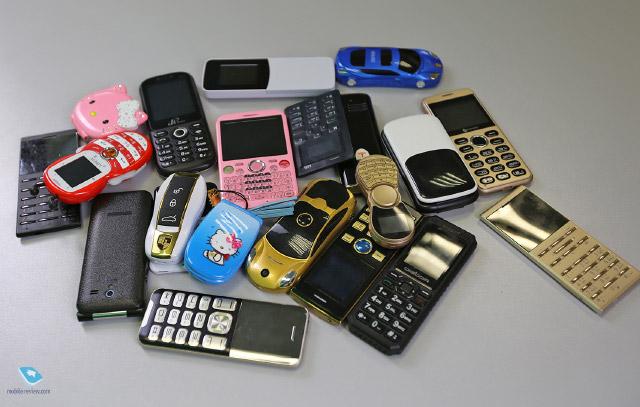 Китайский трэш №1. Подборка необычных телефонов из Китая