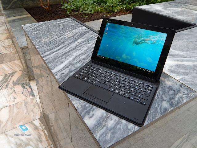 Обзор Windows-планшета Fujitsu Arrows Tab QH35/B1