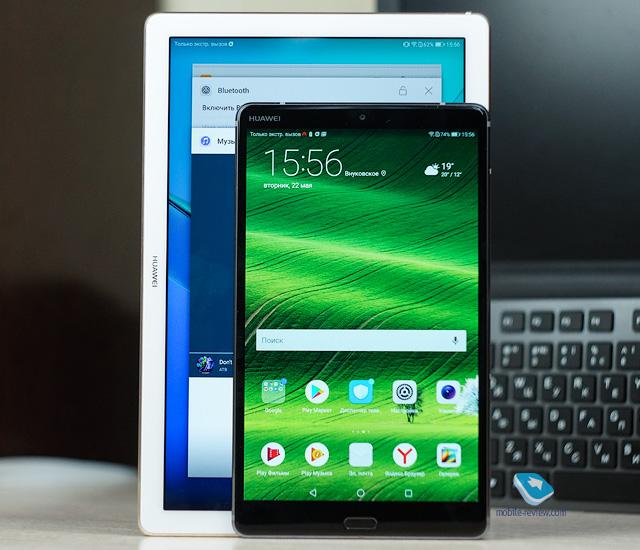 Сравнение планшетов Huawei MediaPad M5 8.4/10