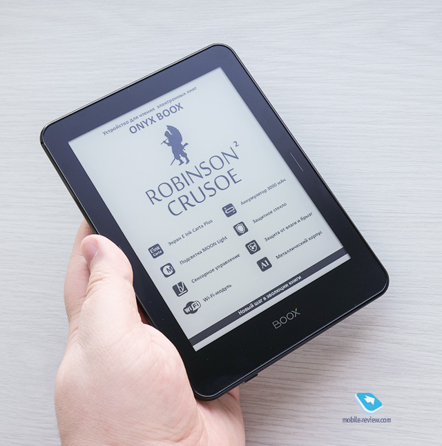 Обзор электронных книг ONYX BOOX Robinson Crusoe 2 и Monte Cristo 3