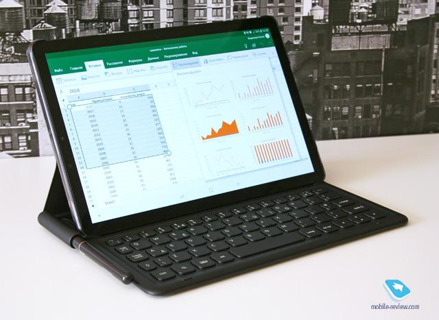 Samsung сделала интересный планшет: первый взгляд на Samsung Galaxy Tab S4