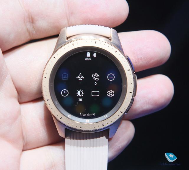 5f9201a9 Mobile-review.com Первый взгляд на умные часы Samsung Galaxy Watch