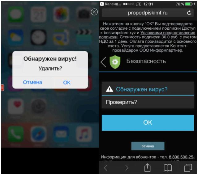 Вирусы на смартфоне. Инструкция по безопасности для iOS и Android