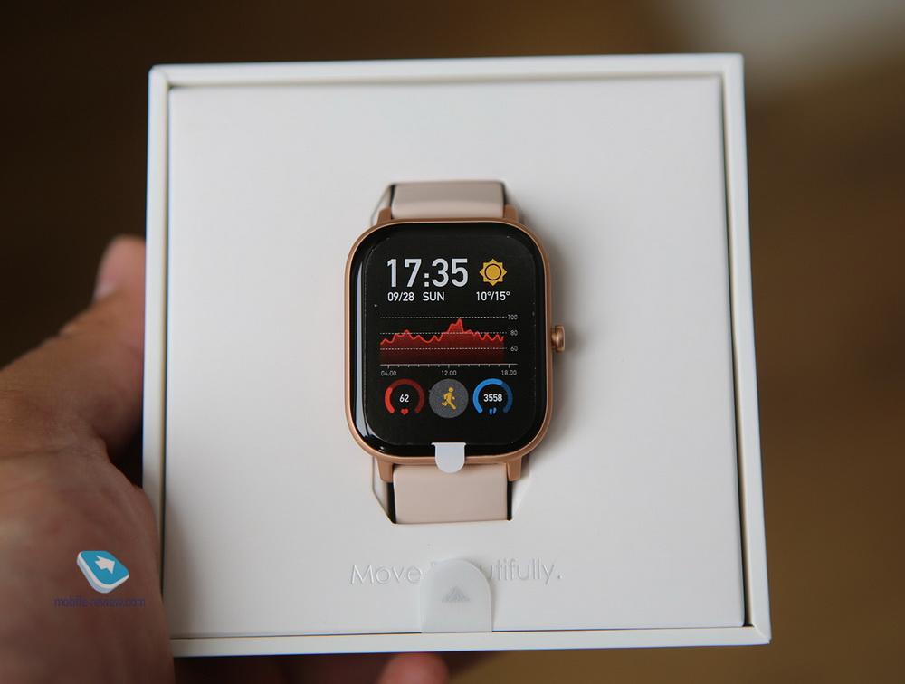 Обзор умных часов Amazfit GTS – копия Apple Watch?