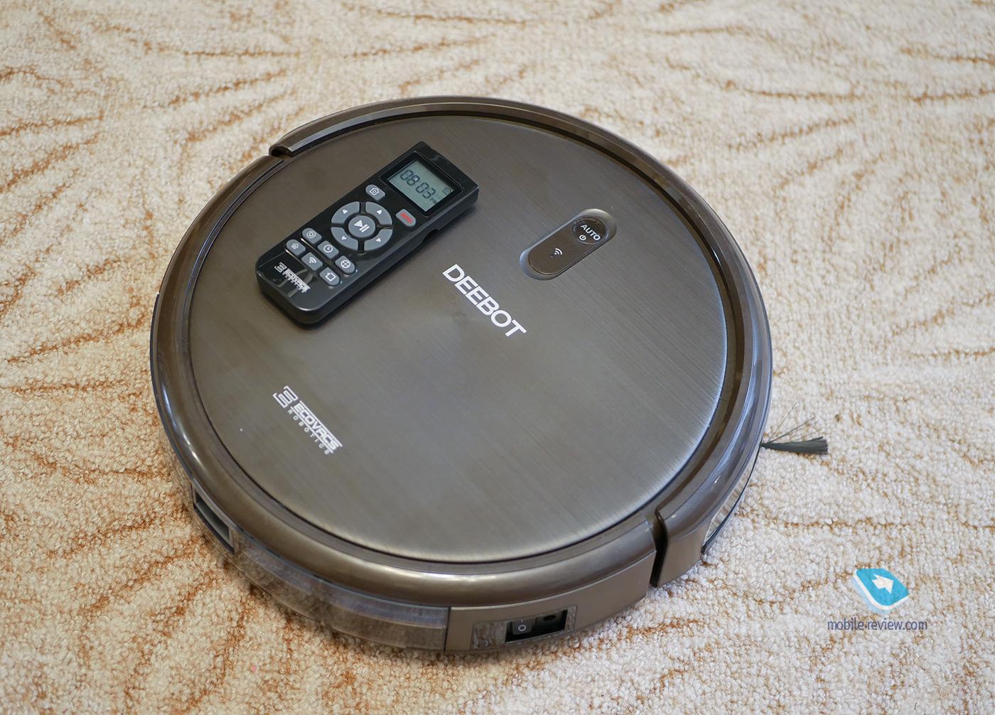 Обзор робота-пылесоса Ecovacs Deebot N79S