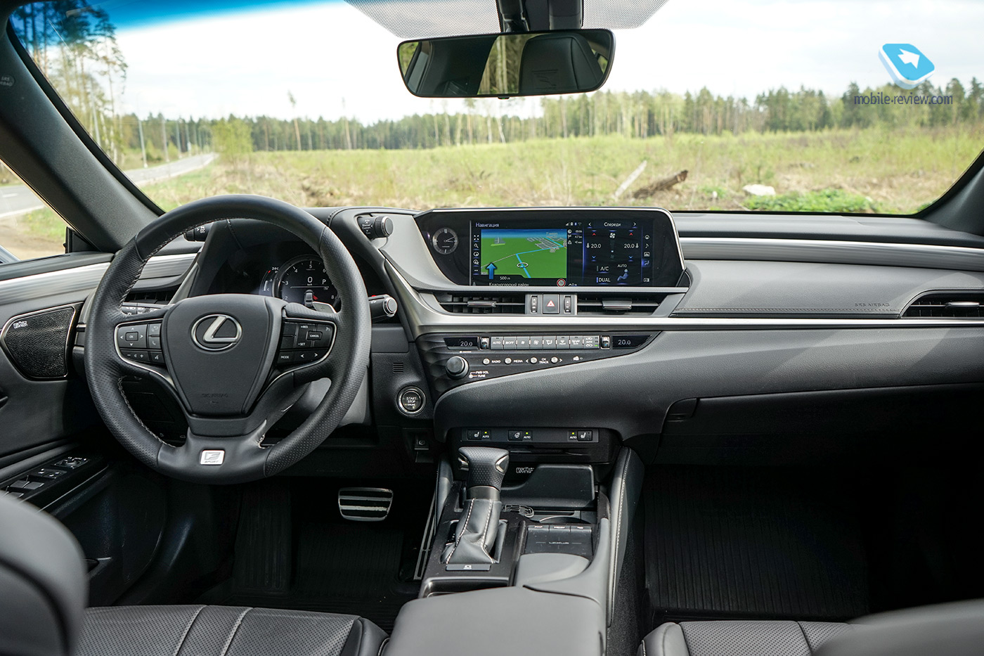 Полный бак №14. Тест Lexus ES350 F Sport