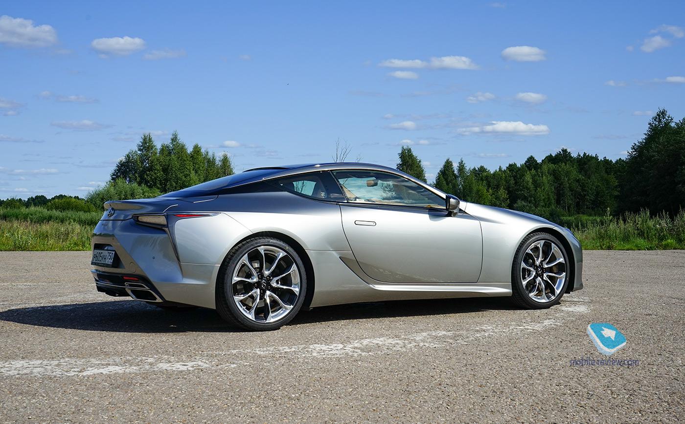 Полный бак №17. Тест Lexus LC500