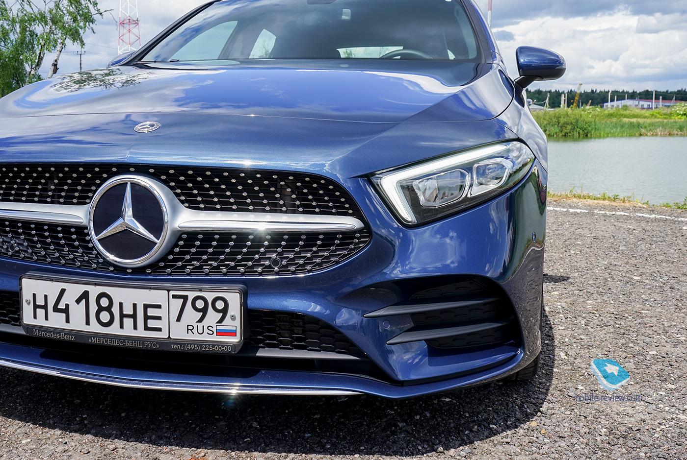 Полный бак №18. Тест Mercedes-Benz A200