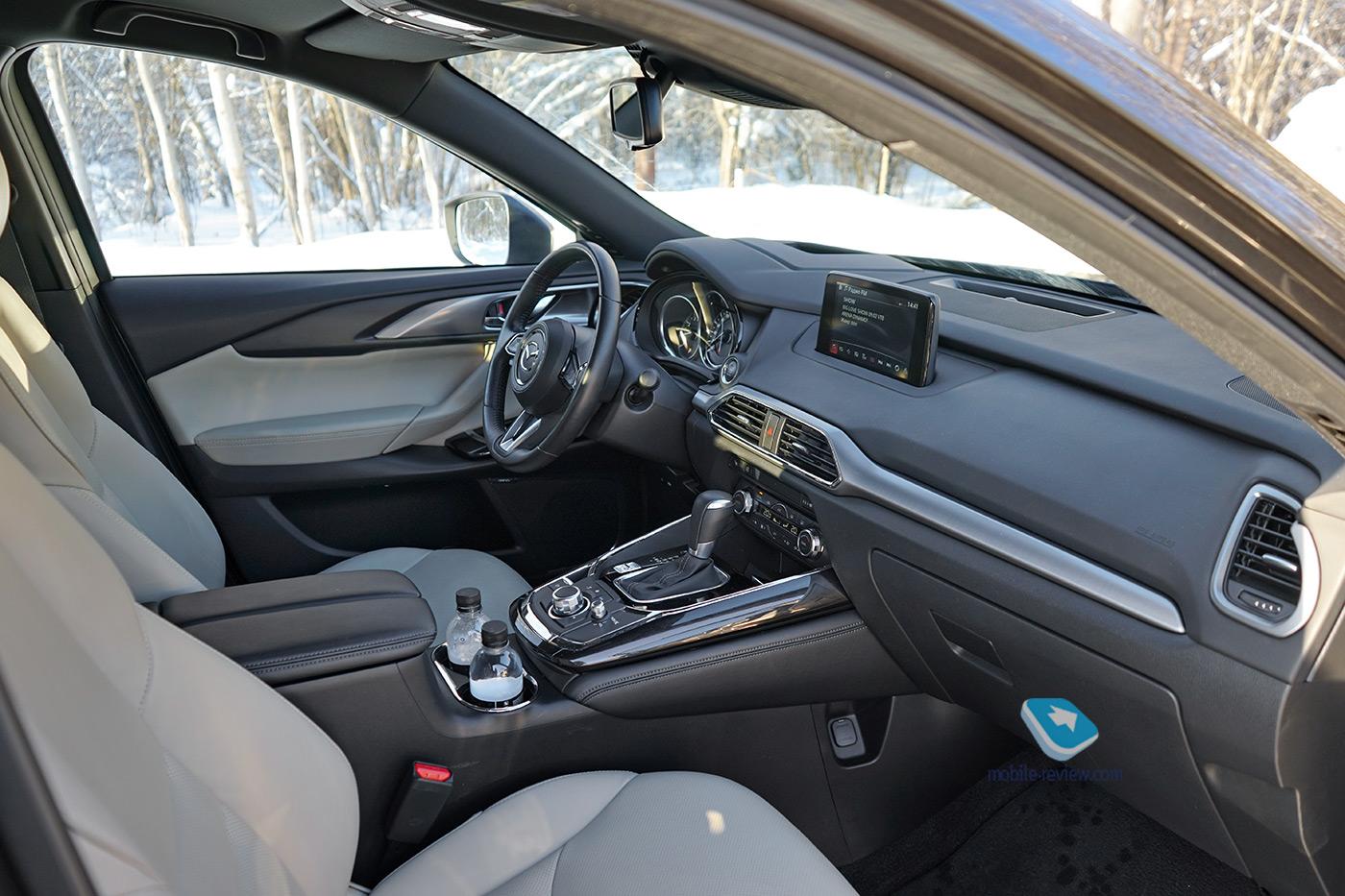 Полный бак №3. Тест Mazda CX-9