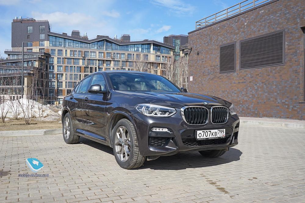 Полный бак №7. Тест BMW X4