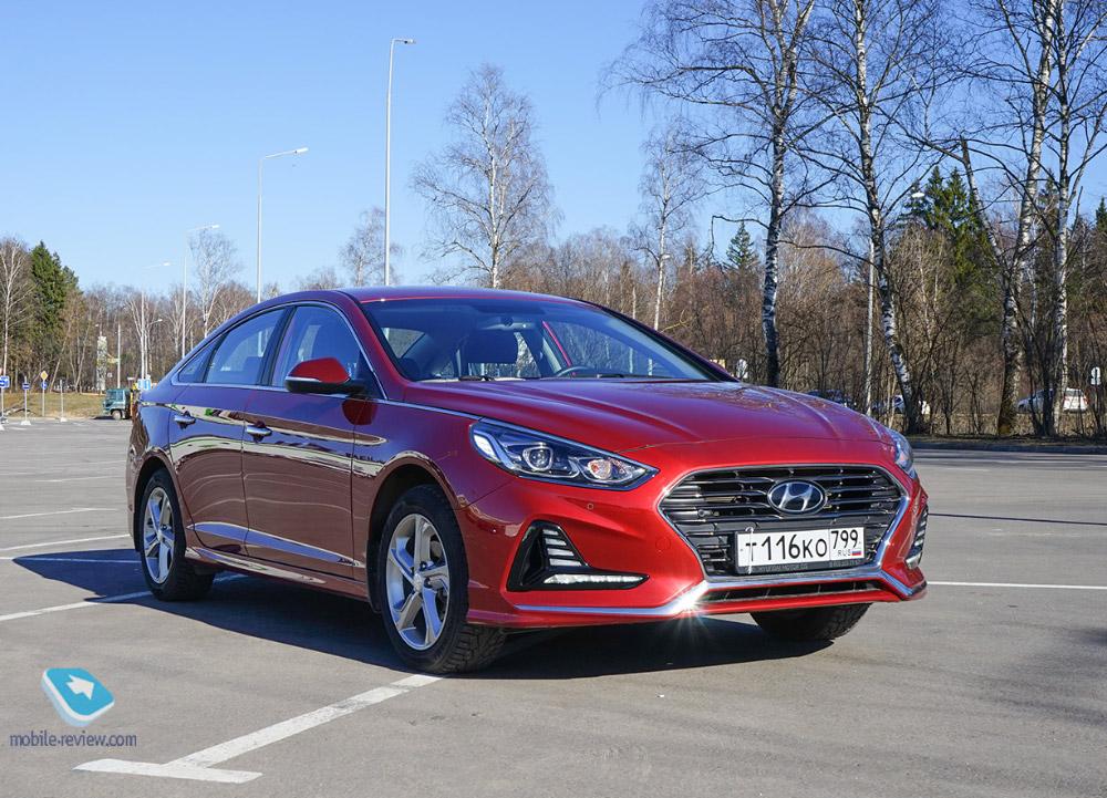 Полный бак №8. Тест Hyundai Sonata