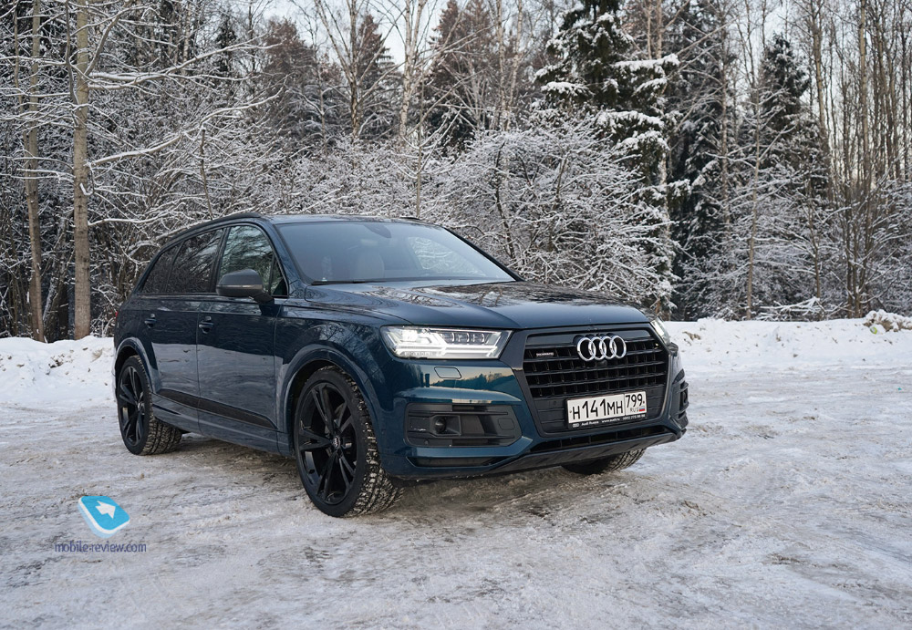 Полный бак №1. Тест Audi Q7