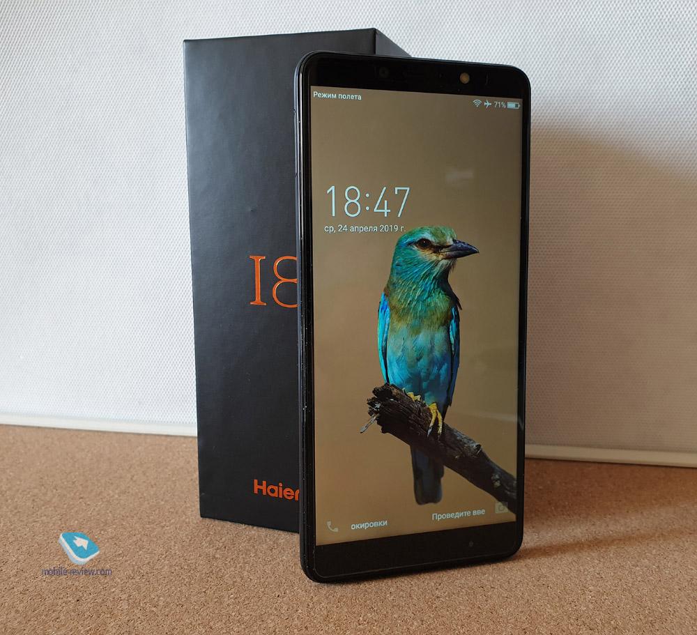 5 мыслей про смартфон Haier I8