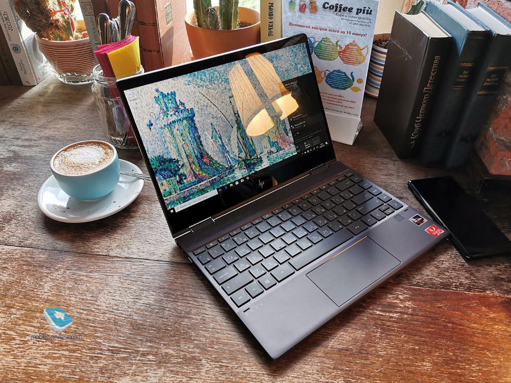 Впечатления от HP Envy x360 2019
