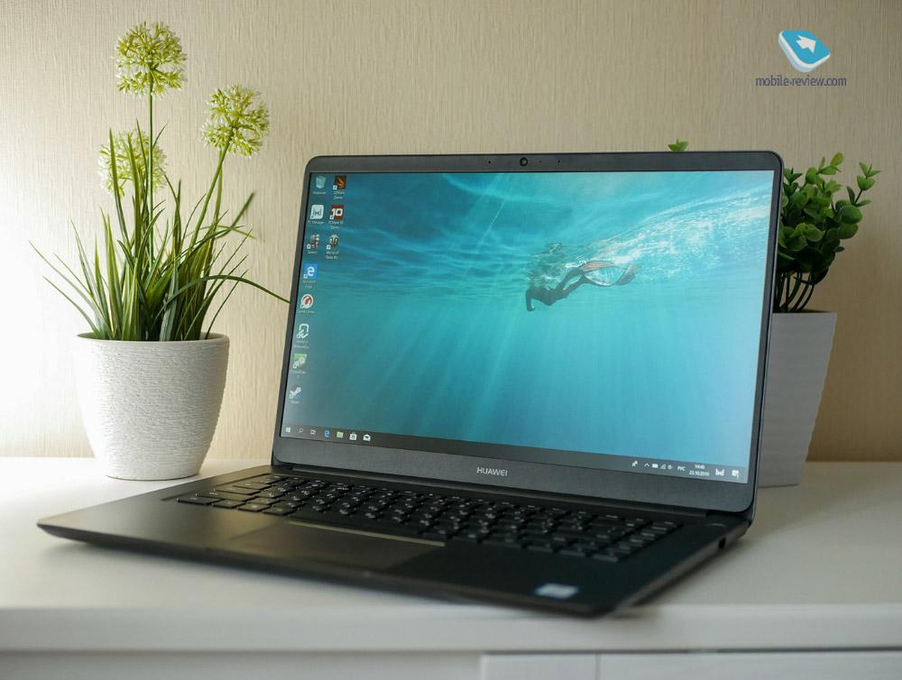 Обзор ноутбука Huawei MateBook D: для учебы и работы!