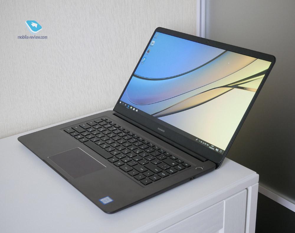 Первый взгляд на Huawei MateBook D