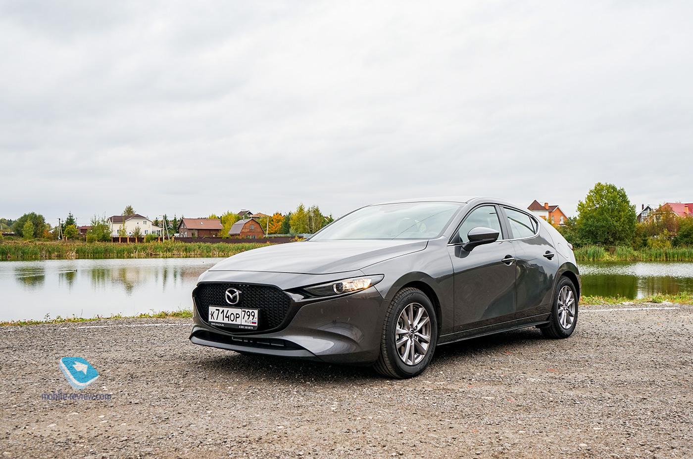 Первый взгляд на новую Mazda 3. Японцы рвутся в премиум