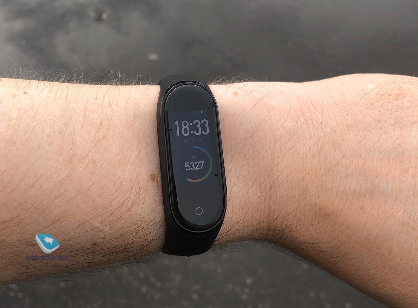 Mobile-review com Xiaomi Mi Smart Band 4: первый взгляд и
