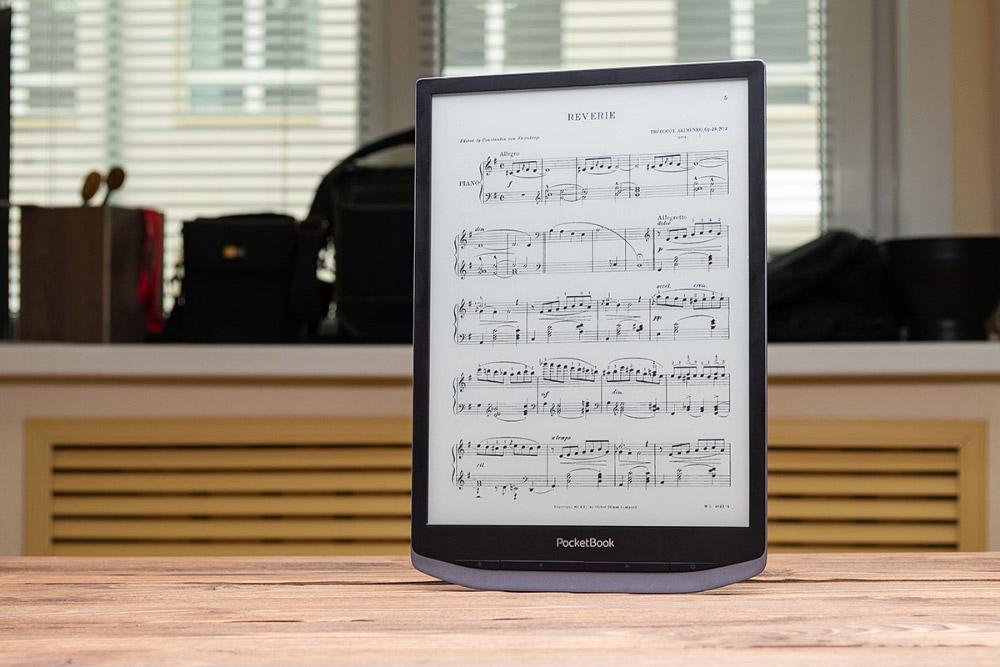 Обзор PocketBook X – самого доступного 10-дюймового ридера с экраном EInk на рынке