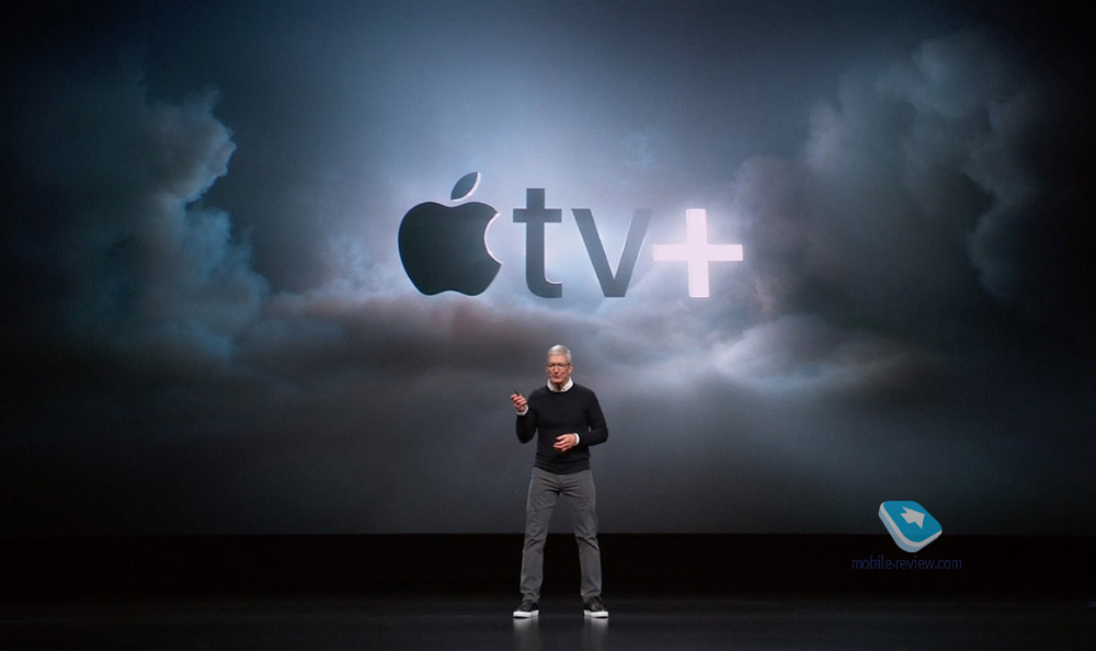 Презентация новых сервисов Apple