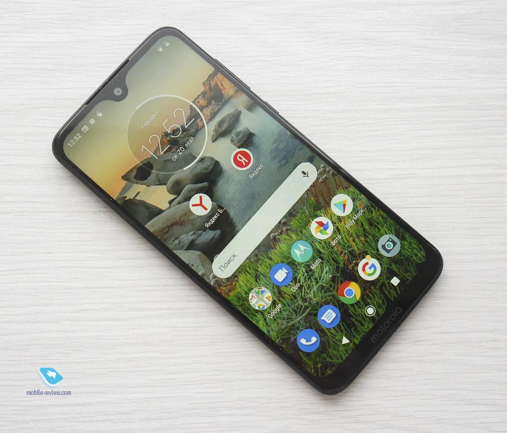 Новые Motorola Moto G7 в России