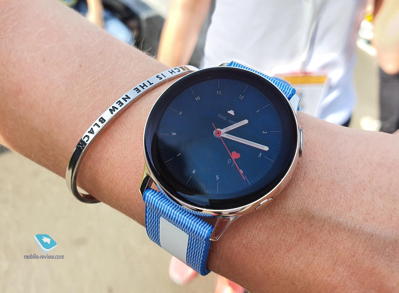 Обзор умных часов Samsung Galaxy Watch Active 2