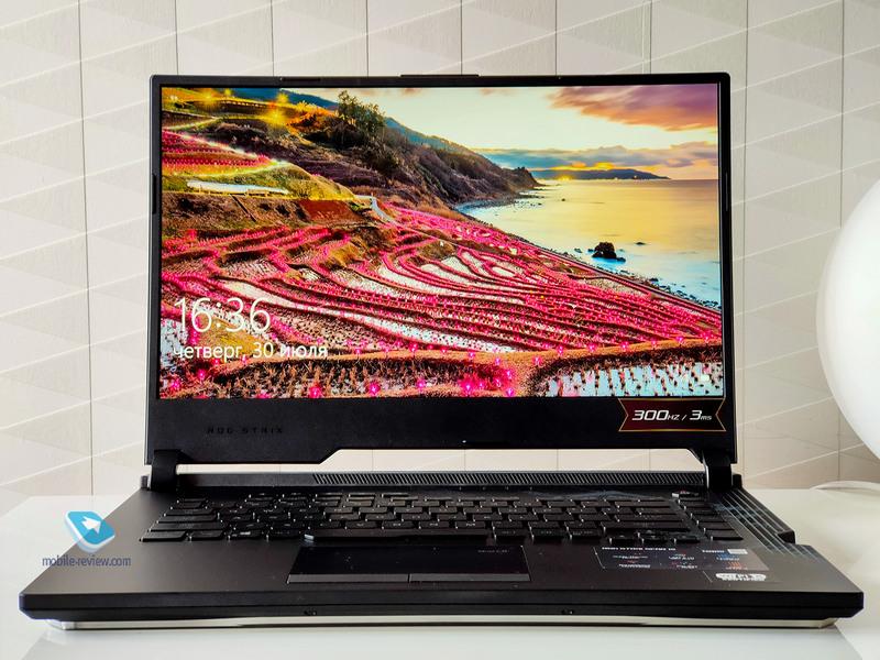 Обзор ноутбука ASUS ROG Strix Scar 15