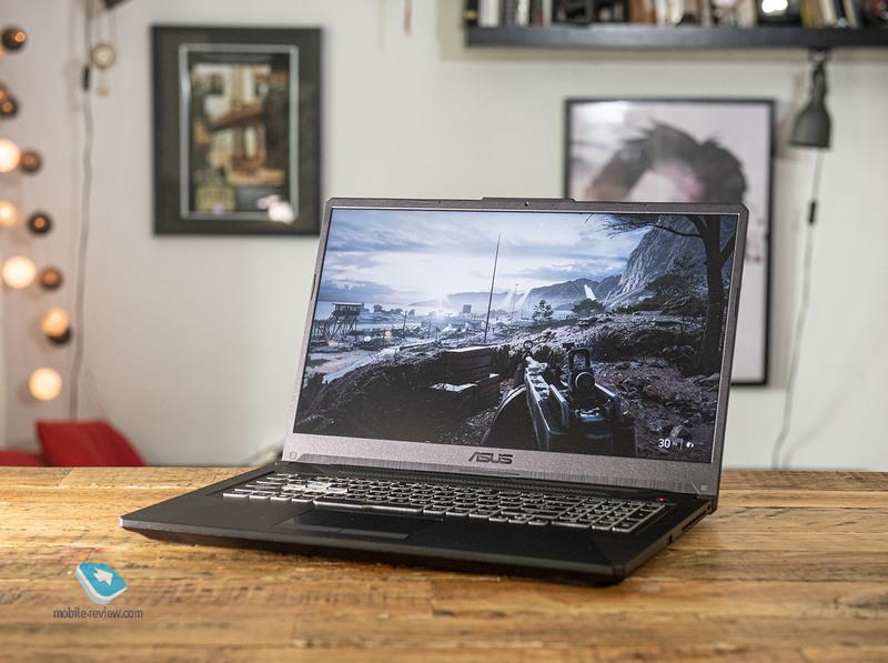 Обзор ноутбука Asus TUF Gaming A17