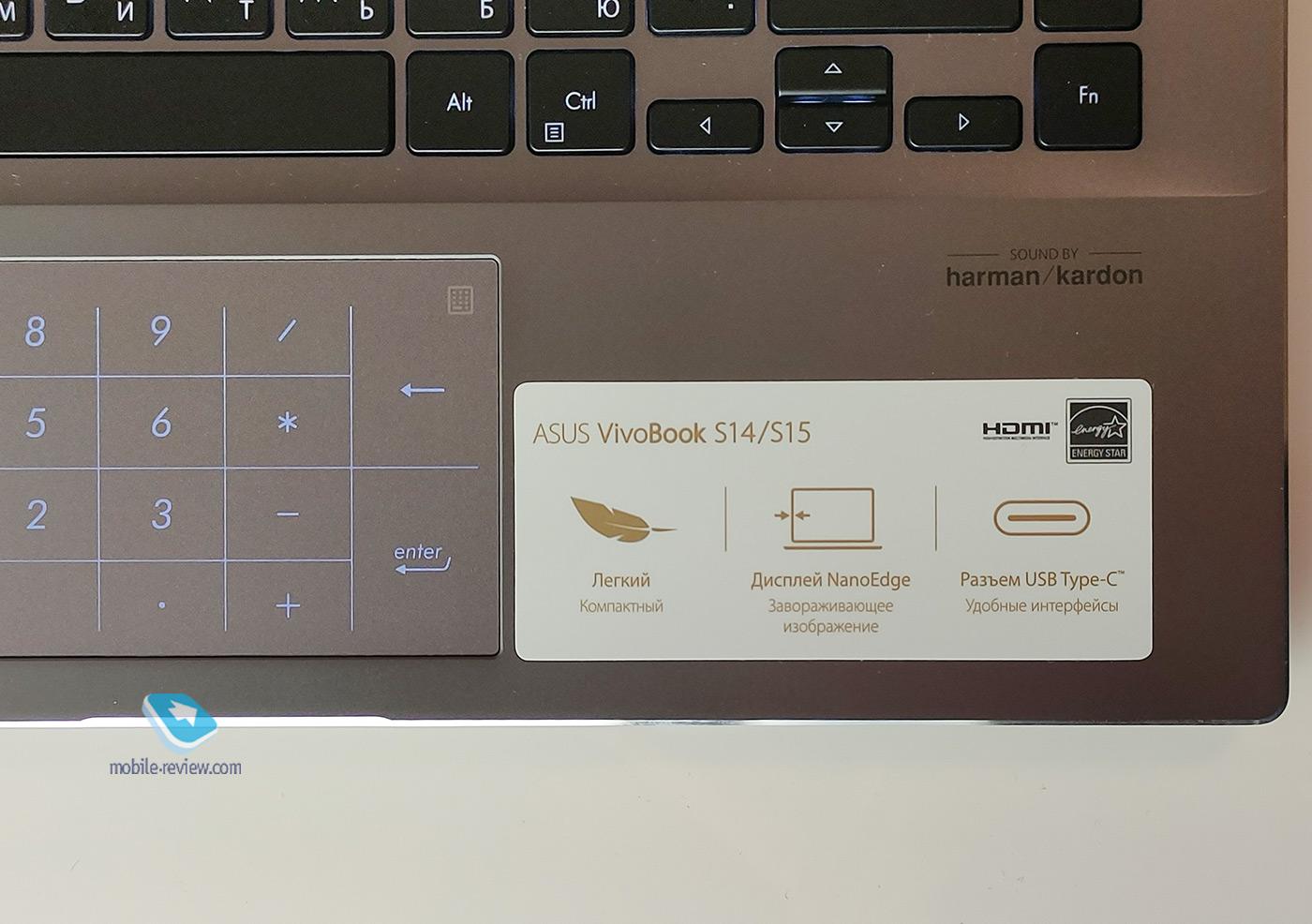 Обзор ASUS VivoBook S14 (S433FL)