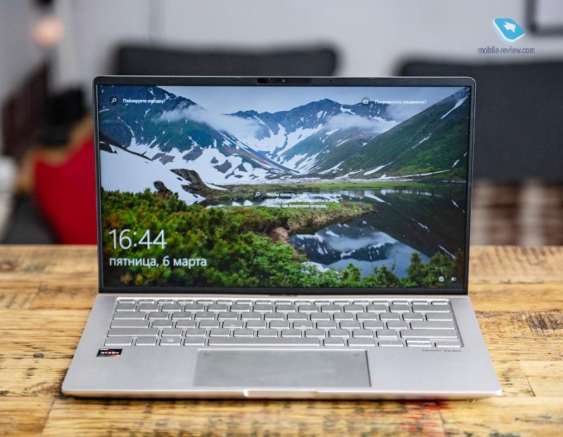 Обзор ноутбука ASUS ZenBook 4 (UM433DA)