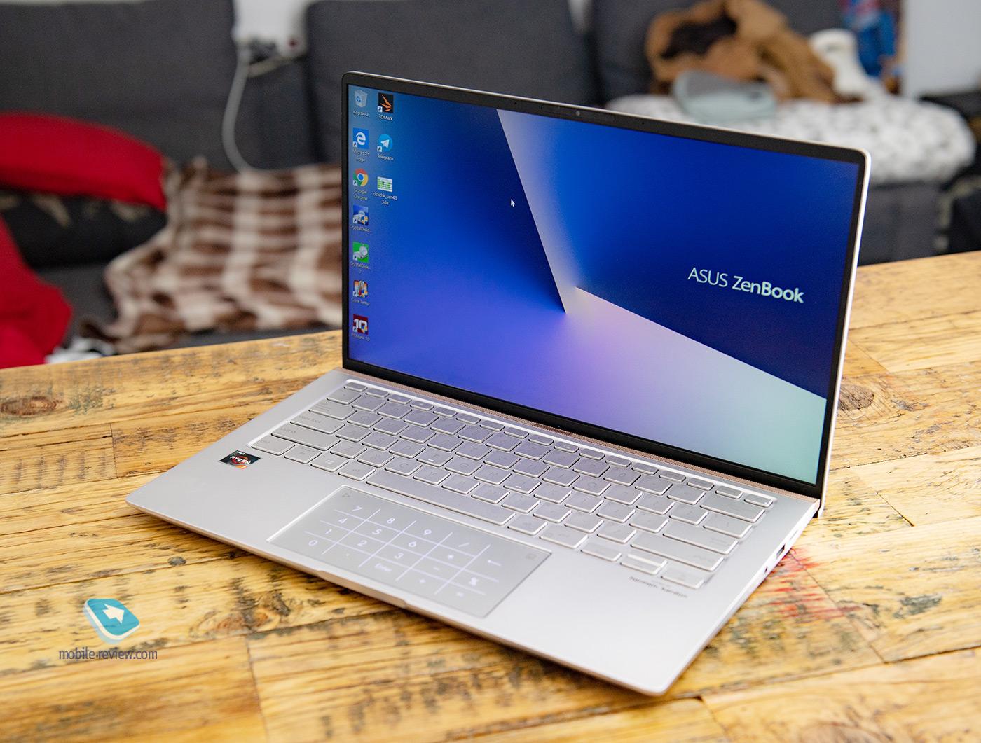 Обзор ноутбука ASUS ZenBook 14 (UM433DA)