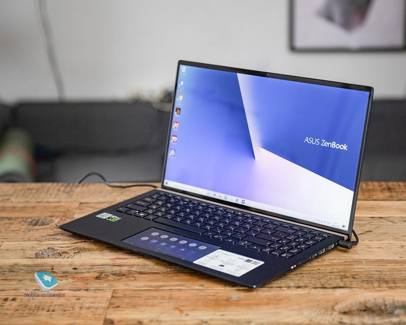 Обзор ноутбука ASUS ZenBook 15 (UX534)