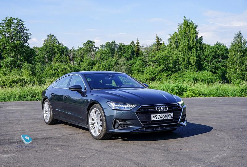 Тест Audi A7 Sportback. Между седаном и купе