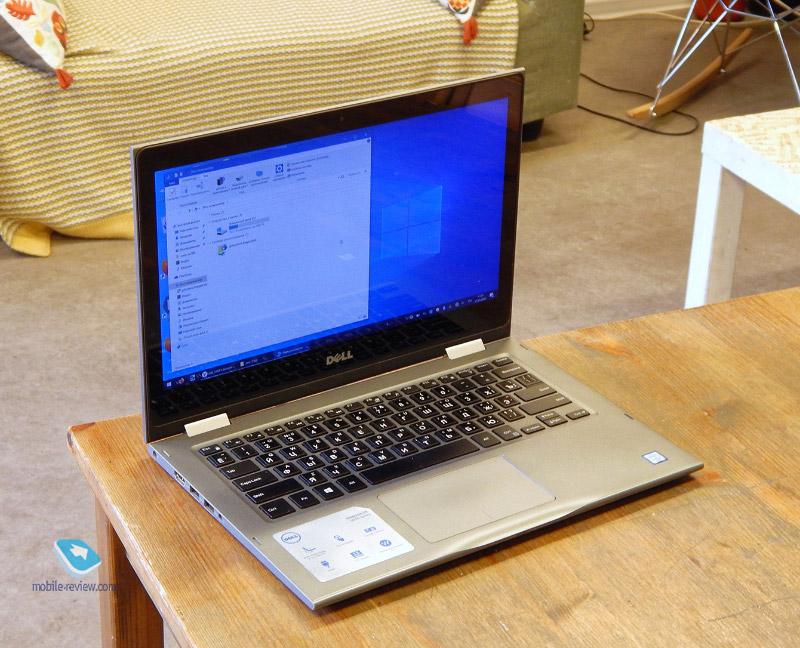 Обзор ноутбука-трансформера Dell Inspiron 13 5368