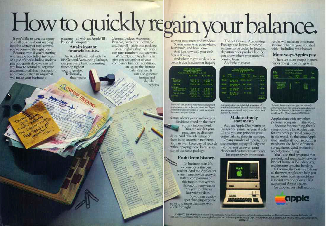 #Эхо77: Рекламные плакаты первых персональных компьютеров