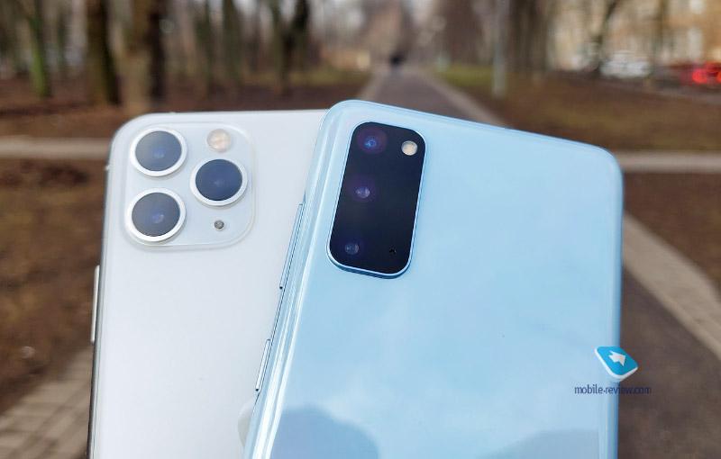 Гид покупателя. Сравниваем iPhone 11 Pro и Samsung Galaxy S20