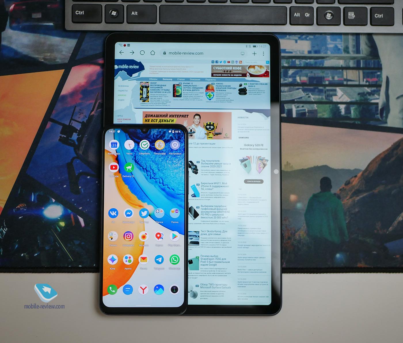 Обзор планшета Honor Pad V6 – когда хочется чего-то новенького