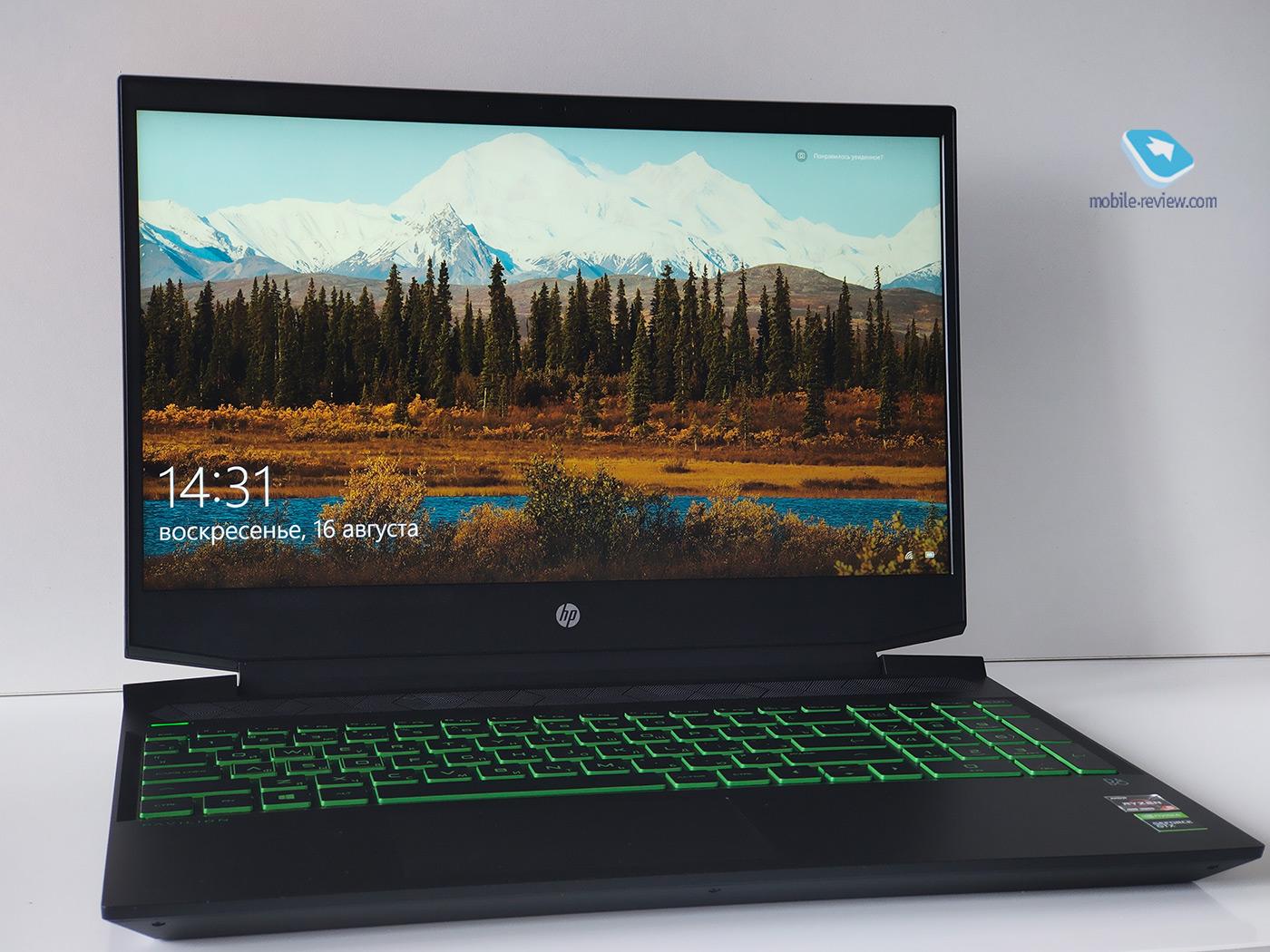 Обзор ноутбука HP Pavilion Gaming 15 (15-ec1019ur)