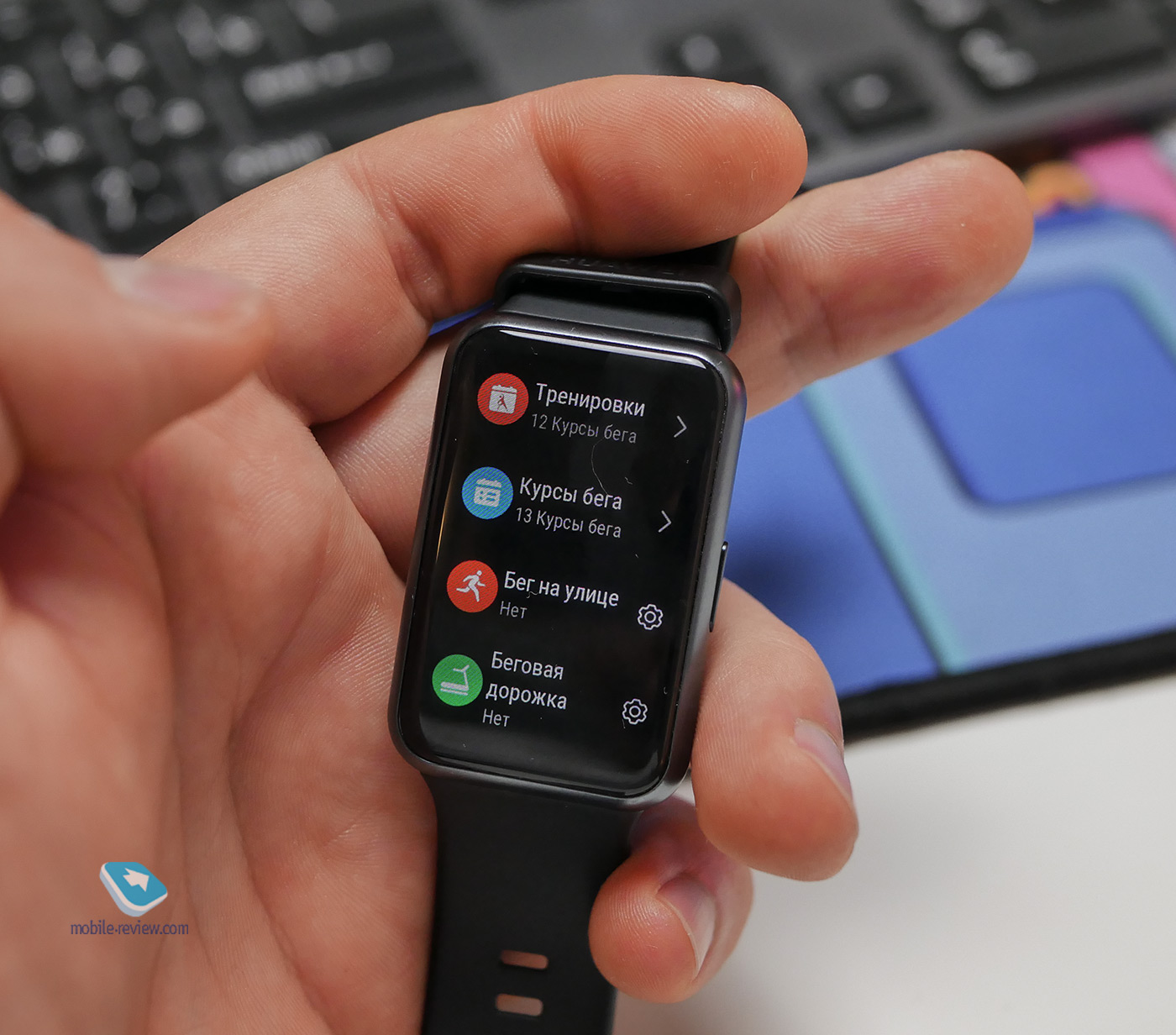 Обзор Huawei Watch Fit - для тех, кто любит побольше