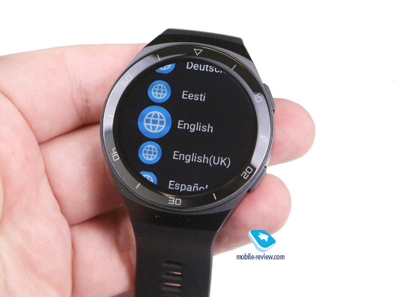 Обзор Huawei Watch GT2e (46 мм, HCT-B19)