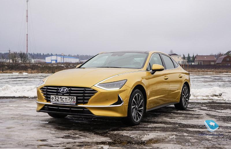 Тест Hyundai Sonata 2020. Дизайн, технологии и…