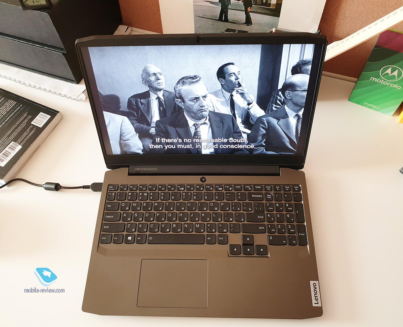 Lenovo IdeaPad Creator 5i: доступный ноутбук c высококлассным экраном