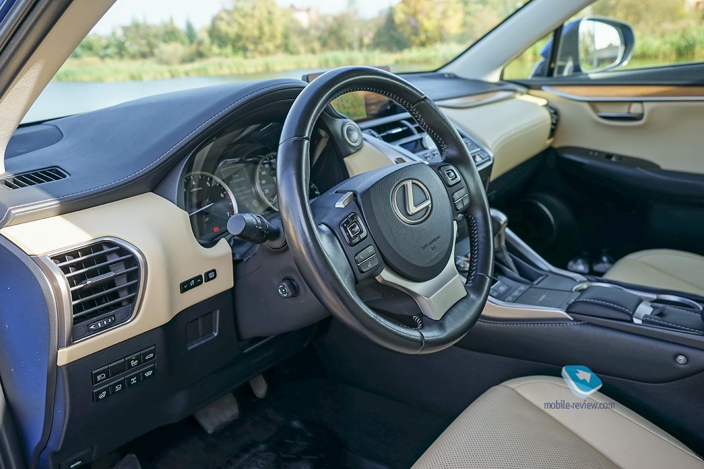 Тест Lexus NX300. Не такой, как все