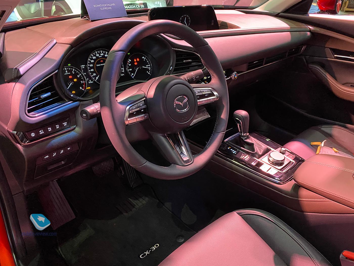 Городской кроссовер Mazda CX-30 уже в России