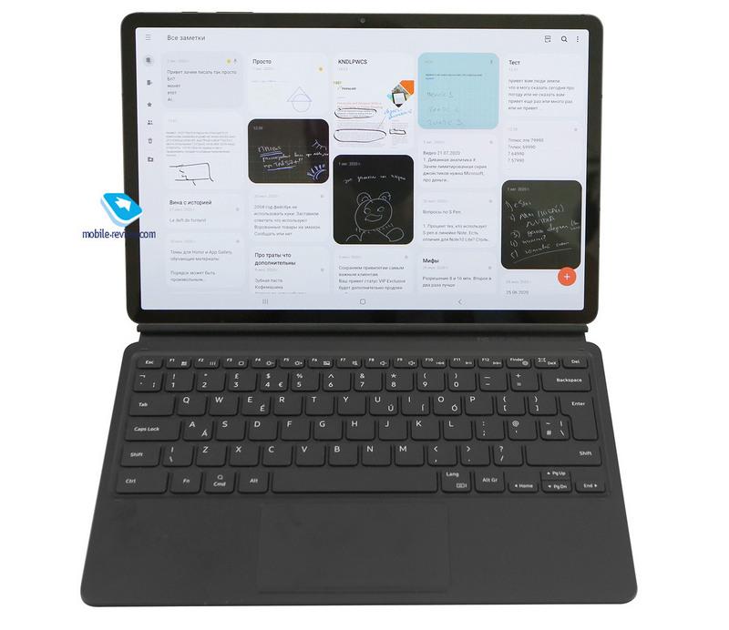 Обзор флагманского планшета Samsung Galaxy Tab S7+