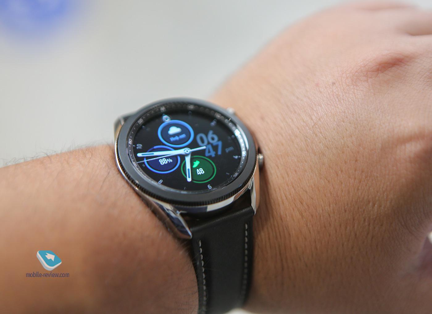 Первый взгляд на Samsung Galaxy Watch 3