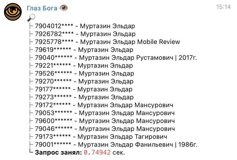 Мифы про базы данных с телефонами, распечатками звонков и личными SMS