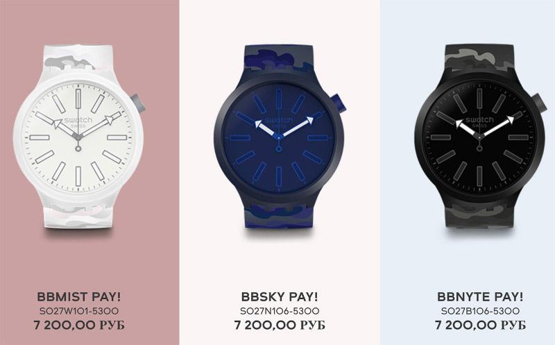 Обзор SwatchPay! на примере молодежных часов Swatch