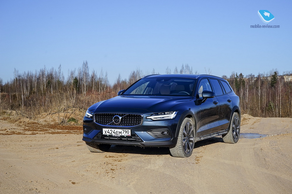 Тест Volvo V60 Cross Country. Практичный универсал
